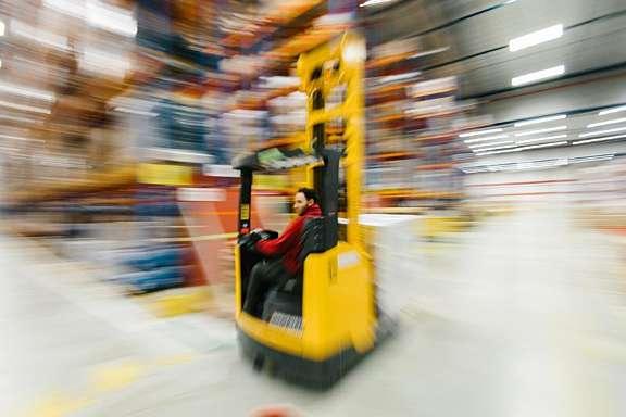 Blij met mijn baan in de logistiek